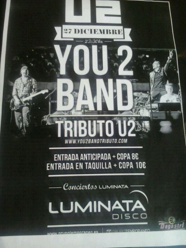 Cartel del concierto del 27-12-13