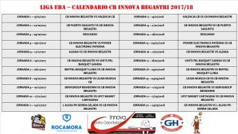 Calendario EBA
