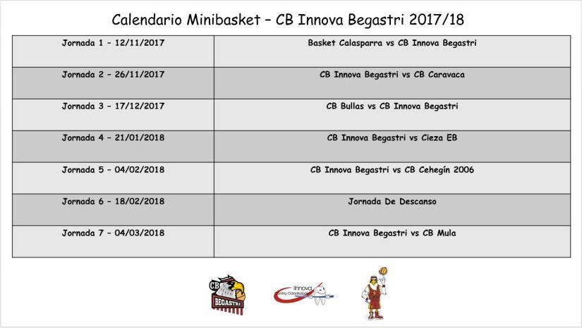 Calendario Minibasket